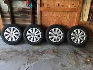 Vw Jetta 15 Inch Steel Rims With Snow Tires