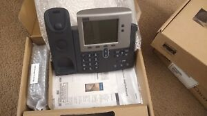 New Cisco Cp 7940g Unified Voip Ip Telephone W Documentation