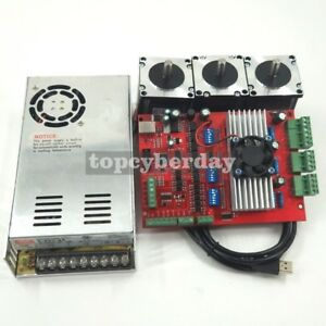 Mach3 Usb 3axis Cnc Kit Tb6560 Stepper Motor Driver Board nema23 Stepper Motor57