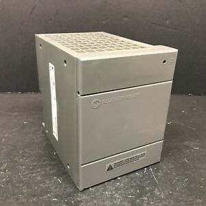 Allen Bradley 1746 p4 1746p4 Slc 500 Power Supply Rack Chassis Ac Good Door Plc