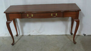 Harden One Drawer Sofa Table Console Cherry