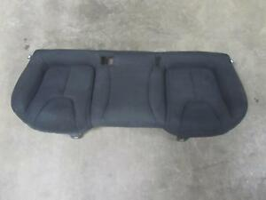 13 Dodge Dart Rearseat Rear Backseat Back Seat Black Cloth Bench Oem Factory