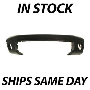 Primered Front Bumper Cover For 2007 2013 Toyota Tundra Pickup W O Park Assist