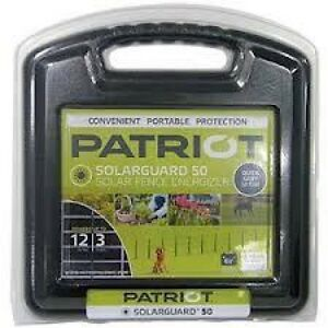 Patriot Solarguard 50 Solar Charger Energizer 12 Acres 3 Miles
