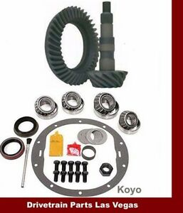Dtplv Gear Dana 30 Tj Jeep Front End 3 73 Ring And Pinion Gear Set Master Kit