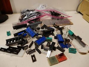 Huge Lot Of Ic Sockets As Shown Most Nos