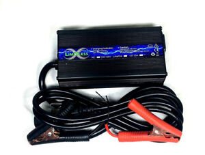 Limitless Lithium Lifepo4 Battery Charger 12 Volt 8 Amp Car Audio Stereo Bass