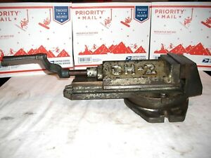 Vintage Ch 2 Drill Press Milling Machine Bench Vise