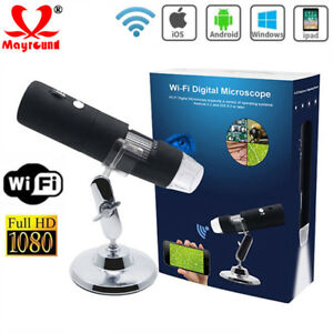 Digital Microscope Magnifier Wireless Wifi 1000x 2mp Hd Usb For Iphone android