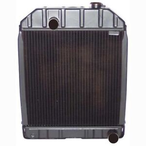 C7nn8005e New Radiator For Ford Tractors 5000 5100 5600 6600 With Cap 4 Row