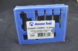Amana 53600 Router Bit Quadraset Adjustable Slotting Assembly Cutters