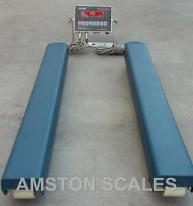 5 000 Lb Weigh Bars Beams Vet Veterinarian Load Livestock Scale Cow 40 X 4 Inch