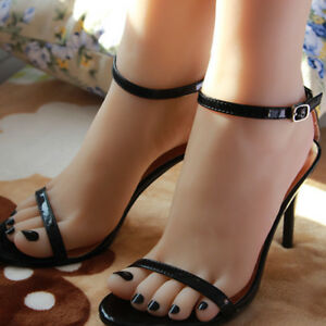 Silicone Female Foot Mannequin Display Shoes Size 38 A189