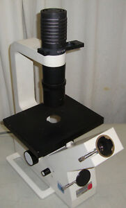 Zeiss Telaval 31 Inverted Phase Contrast Microscope