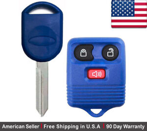 1 New Replacement Keyless Remote Key Fob For Ford Lincoln Mazda Mercury 80 Chip