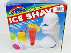 Hawaiian Shaved Ice Electric Shaved Ice Machine New In Box