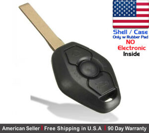 1x New Replacement Keyless Entry Remote Key Fob Case For Bmw Lx8fzv Shell