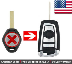 1x New Replacement Keyless Entry Remote Control Key Fob For Bmw Lx8fzv 6955750