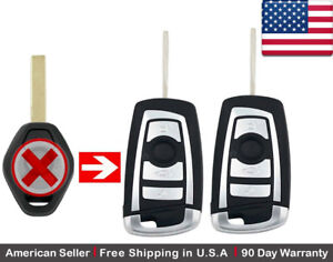 2x New Replacement Keyless Entry Remote Control Key Fob For Bmw Lx8fzv 6955750