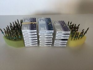 Huge Lot 20 Packs Gt Series M wire Endodontic Dental Rotary Files 21 25 31mm
