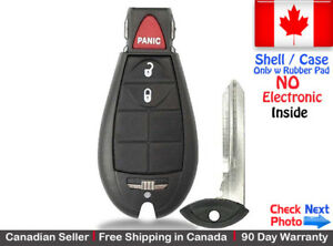 1 New Replacement Remote Key Fob For Dodge Ram Jeep Cherokee Shell Case