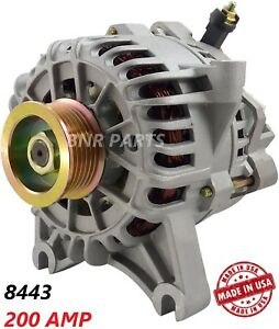 200 Amp 8443 Alternator Ford Expedition Lincoln Navigator High Output Hd Perform