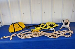 Miller 850 Roof Anchor Kit Roofing Fall Protection 50 Ft Size Unversal