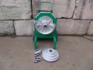 Greenlee 555 Bender 1 2 2 Inch Pipe Electric Bender Nice Unit