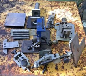 Simple Grinding Rest Bench Surface Tool Grinder Collet Fixture Machinist Jig Lot