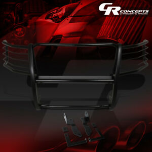 Mild Steel Front Bumper Headlight Grille Brush Guard For 11 14 Chevy Silverado