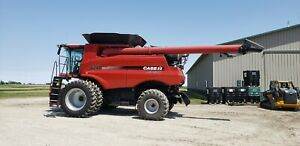 2015 Case Ih 8240 Combine Rwa New 520x42 Dls Loaded