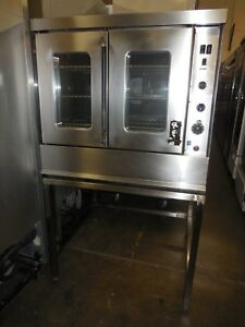 Used Montague Single Convection Oven Natural Gas