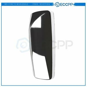 Eccpp Chrome Mirror Cover Truck Mirror Driver Left Side Fit 2015 2018 Volvo Vnl