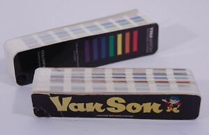 Van Son Ink Pantone Formula Guide 1993 1994 And Trumatch 1993 Fan Style