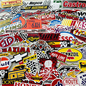 55 Random Mix Stickers Decal Motocross Motorcycle Car Atv Racing Bike Helmet