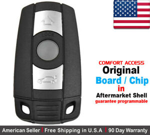 1x Oem New Replacement Keyless Remote Key Fob For Bmw Kr55wk49147 Comfort Access