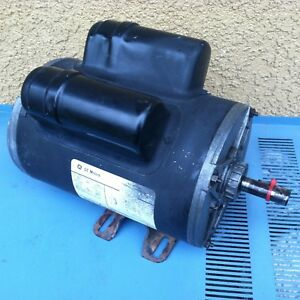 Ge 5kcr48un2171y 3 Hp 3450 Rpm 230v Commercial Duty Air Compressor Motor G22b