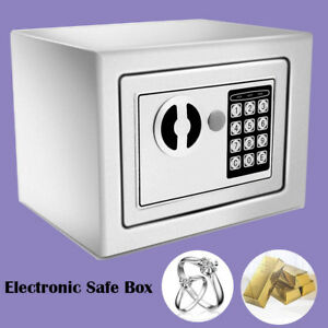 Durable Digital Electronic Safe Box Cash Money Jewelry Security Home Office Wx