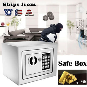 Electronic Safe Box Gun Money Passport Home Hotel Office Security Digital Us Wx