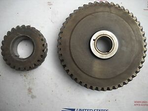 Sa 200 Lincoln Welder Crank Cam Gears From 4 Cylinder Continental F 163 Motor