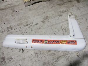 Ford 800 801 Early 2000 4000 Tractor Left Hood Panel