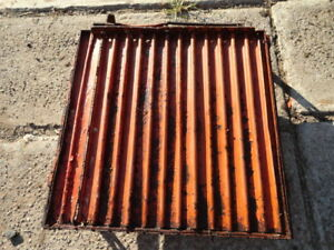 Allis Chalmers Wd 45 C B Ca Tractor Front Radiator Shutters Louvers