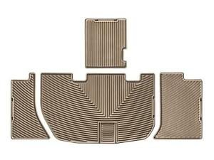 Weathertech All weather Floor Mats For Honda Odyssey 2005 2010 2nd Row Tan