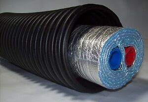 250 Ft Of Commercial Grade Ez Lay Five Wrap Insulated 11 2 Nb Pex Tubing