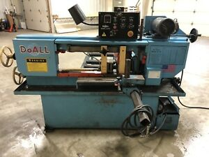 Pre owned Do all C 916a Horizontal Band Saw Auto Feed 240 480vac 3 phase