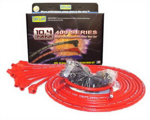 Taylor 79253 409 Pro Race Universal Spark Plug Wire Set 10 4mm 45 Degree Boots