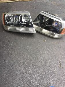 Headlights For A 2002 Jeep Grand Cherokee Laredo
