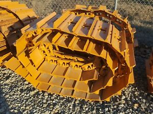 2 Case 650l Dozer Complete Track Undercarriage Extended Life Oem