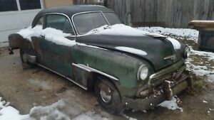51 1951 Chevrolet 2 Door Powerglide Coupe Parts Only
