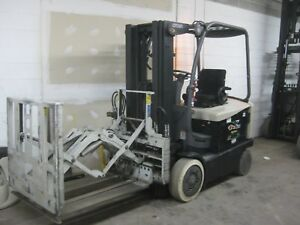 Crown Electric Fc4525 40 Forklift 4000 Lb Capacity w cascade Pushpull Attach